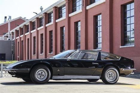 Maserati celebra los 50 años de la entrega del primer Indy Coupé