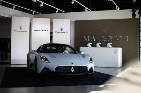 Exclusiva presentación en España del Maserati MC20