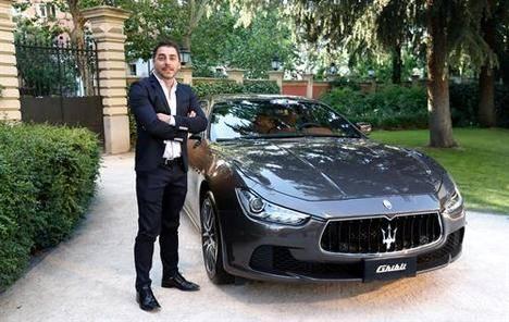 Maserati con la elegancia masculina