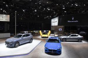 Maserati en el Salón del Automóvil de Shanghái 2021