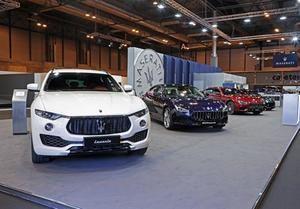Maserati presenta en el Salón de Madrid el Levante 2108