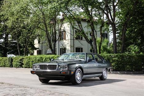 40 años de la presentación del Maserati Quattroporte al Presidente de Italia