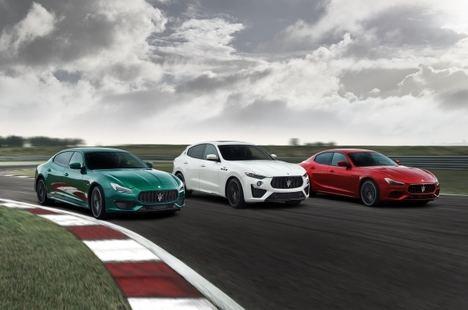 Trofeo, la colección más potente jamás vista en Maserati