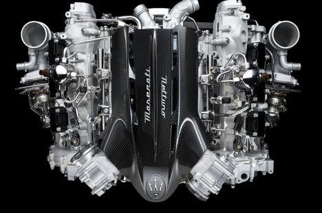 Maserati presenta su nuevo motor Nettuno