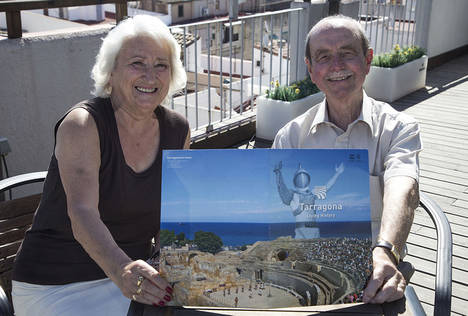 Tres turistas británicos, fieles a Tarragona durante más de 50 años seguidos