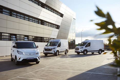 Las furgonetas eléctricas Maxus llegan a los concesionarios españoles, desde 24.381€