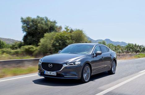 El Mazda6 obtiene la máxima calificación del IIHS