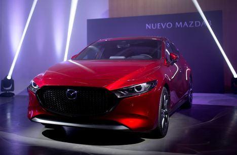 El Mazda3 debuta en Madrid