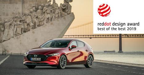 El nuevo Mazda 3 máximo galardón de los premios de diseño Red Dot 2019