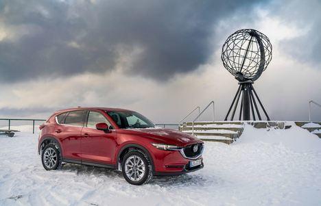 El Mazda CX-5 2019 conquista el Círculo Polar Ártico