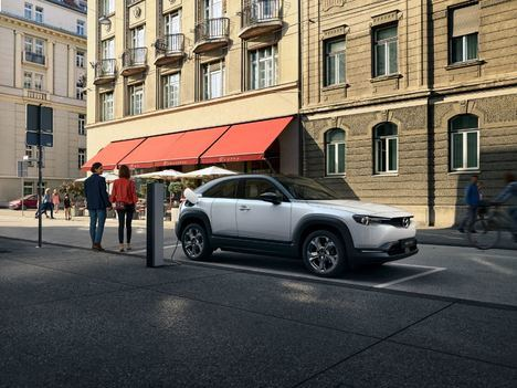 Se inicia la producción del Mazda MX-30