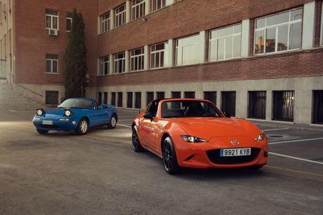 El Mazda MX-5 celebra su 30º aniversario con un homenaje a los noventa