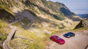 El Mazda MX-5 2019 recorre la legendaria carretera Transfagarasan de Rumanía