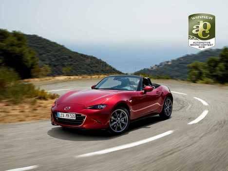 Otro premio en el Automotive Brand Contest para el Mazda MX-5