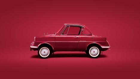 R360 Coupe, el primer turismo de Mazda