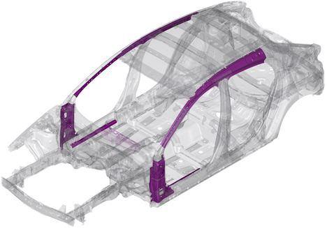 Proceso pionero de estampación de acero desarrollado por Mazda