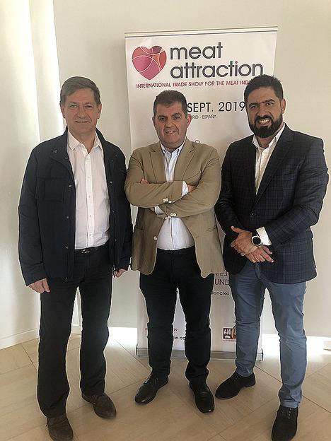 MeatAttraction presenta sus propuestas de internacionalización al sector ibérico de Jabugo