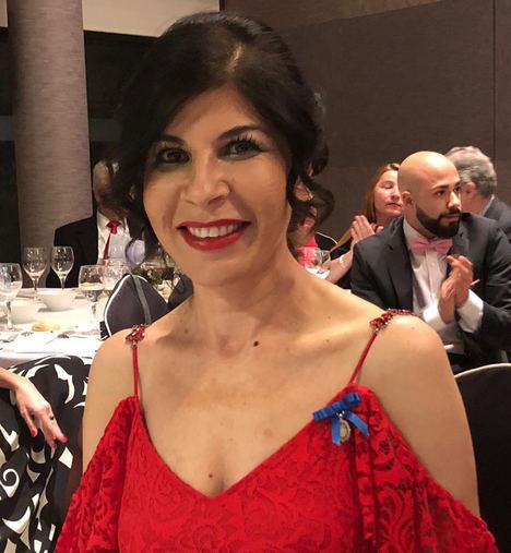 """Samira Brigüech, """"Medalla de Oro al Mérito en el Trabajo"""" de la Asociación Europea de Economía y Competitividad"""