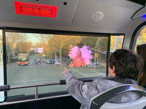 Mediapro, Telefónica y TMB desarrollan el primer proyecto de realidad aumentada sobre 5G en un autobús turístico
