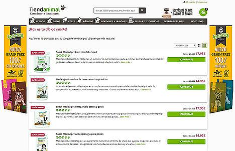 Tiendanimal lanza una marca propia de suplementos nutricionales para mascotas