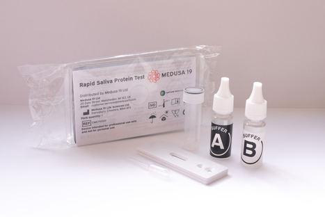 Se lanza una innovadora prueba mediante flujo lateral para detectar la Covid-19 con muestras de saliva que ofrece resultados en diez minutos