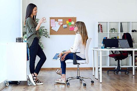 Megacity apuesta por la ergonomía para garantizar la salud de los trabajadores de oficina