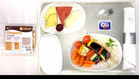 Air Europa ofrece nuevos menús especiales libres de alérgenos