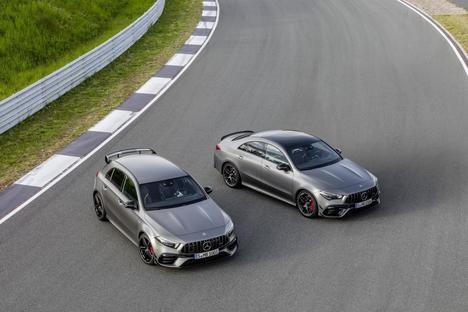 Nuevos Mercedes-AMG A 45 4Matic y CLA 45 4Matic+