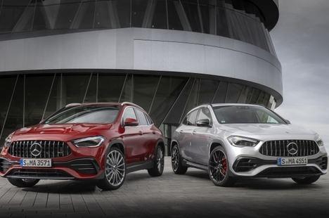 Nuevos Mercedes-AMG GLA 35 4Matic y GLA 45 S 4Matic+
