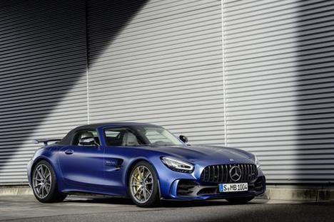 Ya se admiten pedidos del nuevo Mercedes-AMG GT R Roadster