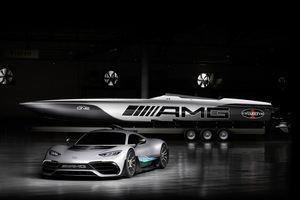 Mercedes-AMG y el Cigarette Racing 515 Project ONE