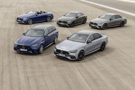 Mercedes-AMG renueva el E 63 4Matic+ berlina y estate