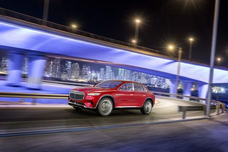 Estreno mundial del Vision Mercedes-Maybach Ultimate Luxury