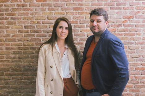 Mercedes Garcia y Raul González, co-fundadores de Ecodicta.