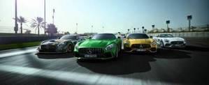 50 años de éxitos Mercedes-AMG