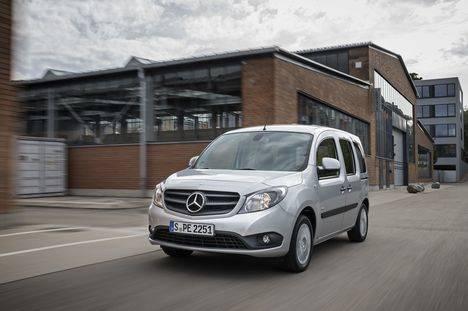 Citan, la furgoneta urbana de Mercedes, más accesible que nunca
