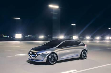 Prototipo Mercedes-Benz Concept EQA para la categoría compacta
