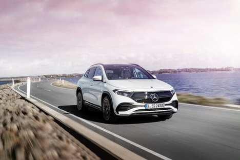 Inicio de la comercialización del Mercedes EQA