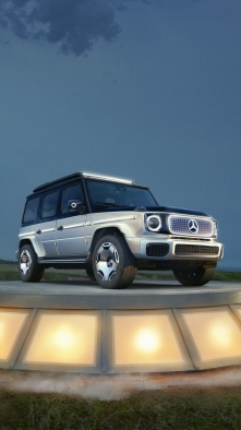La Clase G de Mercedes preparada para la movilidad eléctrica