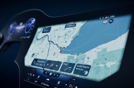 El EQS de Mercedes incorporará la nueva hyperscreen