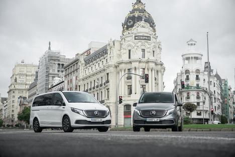 El EQV de Mercedes-Benz: eléctrico, versátil e inteligente