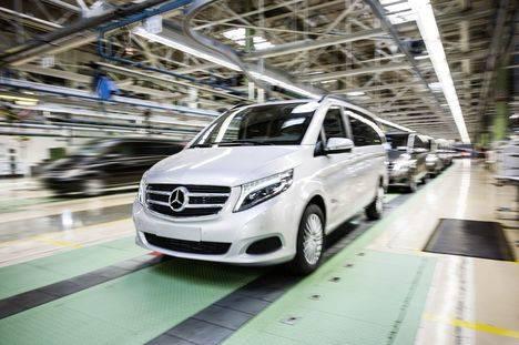 Aumento de la capacidad de producción en la planta de Vitoria de Mercedes