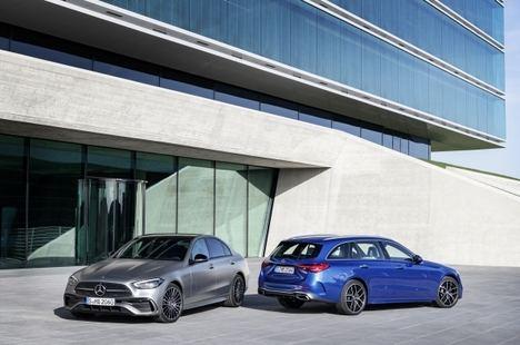 La nueva Clase C Berlina y Estate de Mercedes