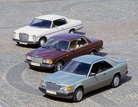 La historia de los Mercedes-Benz Clase E Coupé y Cabrio