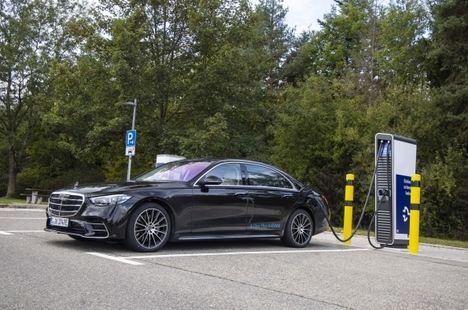 Nuevo Mercedes Clase S híbrido enchufable