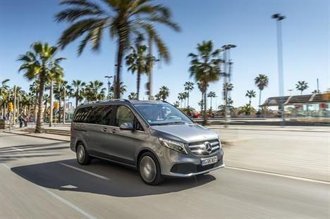 Nuevo Clase V de Mercedes