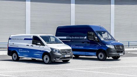 Las Mercedes eVito y eSprinter