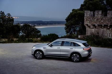 El Mercedes eléctrico llegará en verano