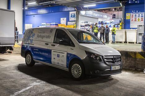 Mercedes eVito isotermo refrigerada 100% eléctrica