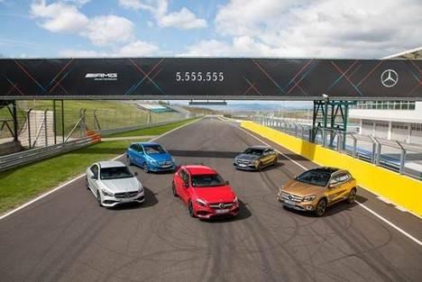 Mercedes, más de 5.555.555 vehículos compactos vendidos